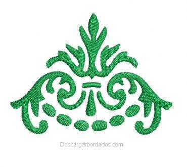 Diseño bordado de tribales