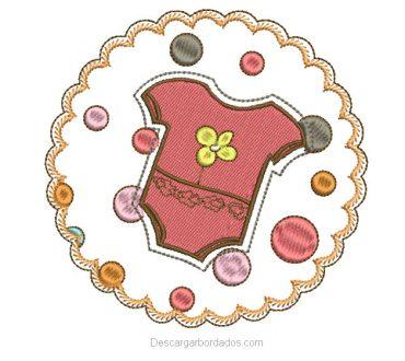 Diseño bordado para niños