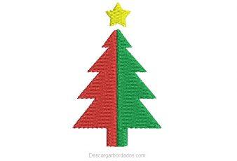 Bordado de Árbol de Navidad para Bordar