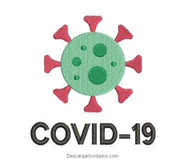 Diseño de COVID-19 para Bordar