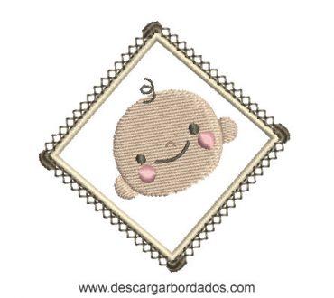 Diseño bordado infantil listo para bordar