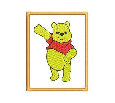 Diseños de bordado cuadro de winnie pooh