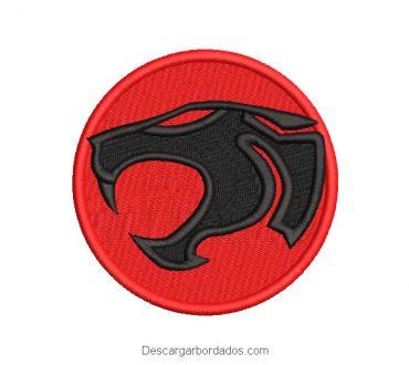 Diseño Bordado Logo Thundercats