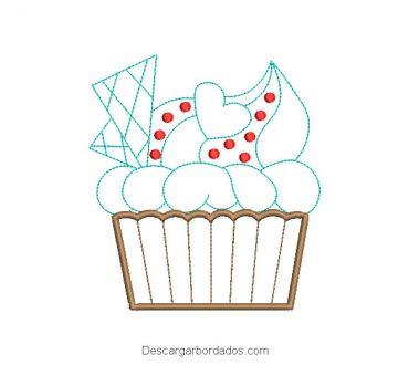 Diseño Bordado de Cake Pop