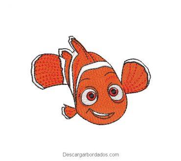 Diseño Bordado de Nemo