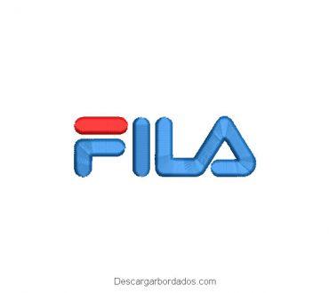Diseño Bordado de logo Fila