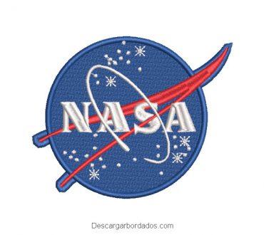 Diseño Bordado logo Escudo de NASA