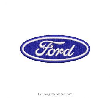Diseño Bordado logo de Ford
