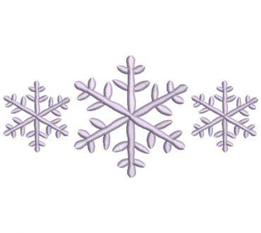 Diseño Estrellas de Navidad para Bordado
