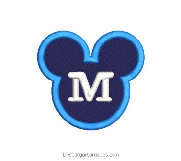 Diseño bordado Logo de Mickey Mouse