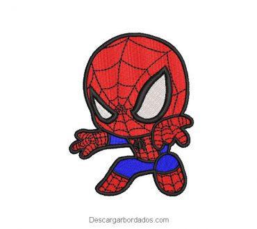 Diseño bordado Spider-Man Hombre Araña superhéroe