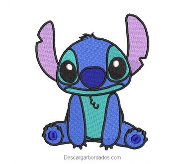 Diseño bordado de Stitch para máquina