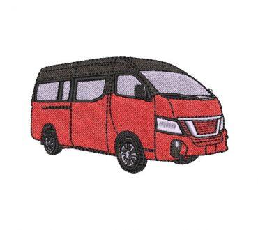 Diseño de Bordado Bus