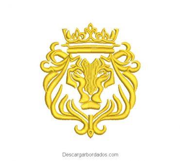 Diseño de Bordado Escudo de León
