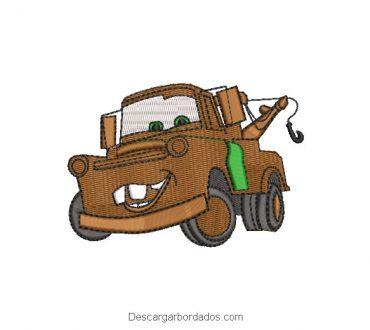 Diseños Bordados de Autos Cars Mate