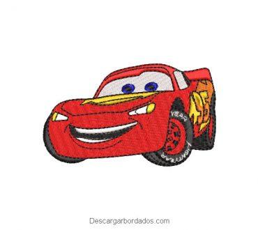 Diseños Bordados de Autos Cars Rayo McQueen