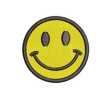 Emoji Carita Feliz Diseños de Bordado