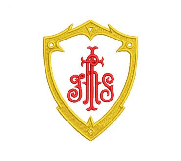 Escudo JHS Religioso Diseños de Bordados