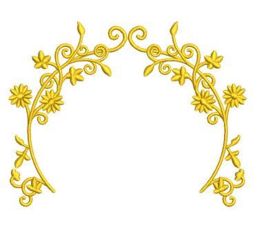 Flores Religiosas Diseños de Bordado