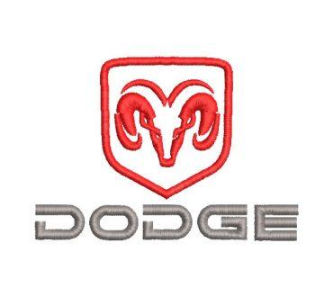 Logo Dodge Diseños de Bordado