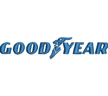 Logo Goodyear Diseños Bordados