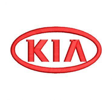 Logo Kia Diseños de Bordado