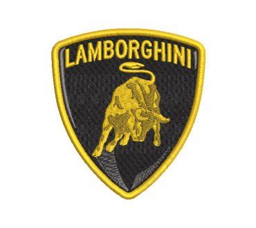 Logo Lamborghini Diseños de Bordado
