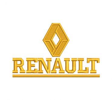 Logo Renault Diseños de Bordado