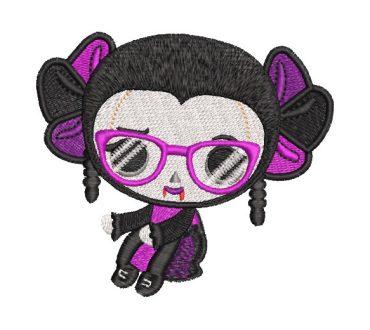 Muñeca Vampira Diseños de Bordado
