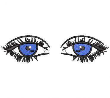 Ojos Azules Diseños de Bordado