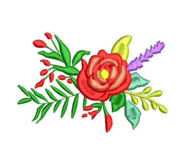 Ramo de Rosas Diseños de Bordado