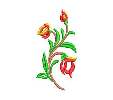 Ramos de Flores con Decoración Diseños de Bordado