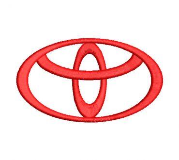 Toyota Diseños de Bordado