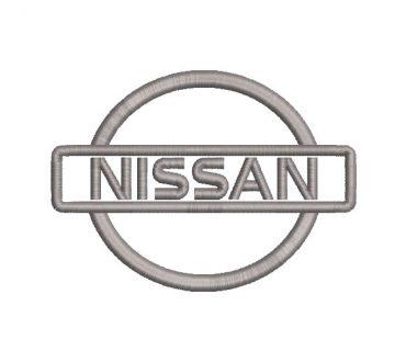 logo Nissan Diseño de Bordado